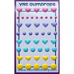 Bilde av Your Next Stamp - YNS Gumdrops - Heart And Dot