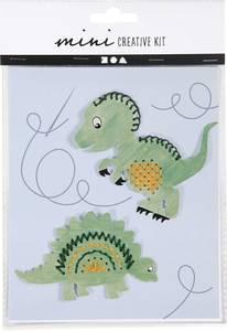 Bilde av Hobbysett - Mini - Broderifigur - Dinosaur