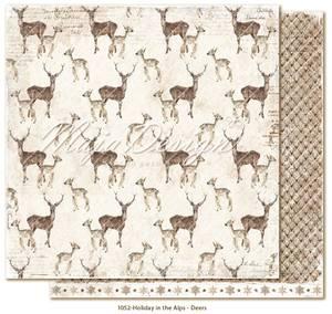 Bilde av Maja Design - 1052 - Holiday in the Alps - Deers