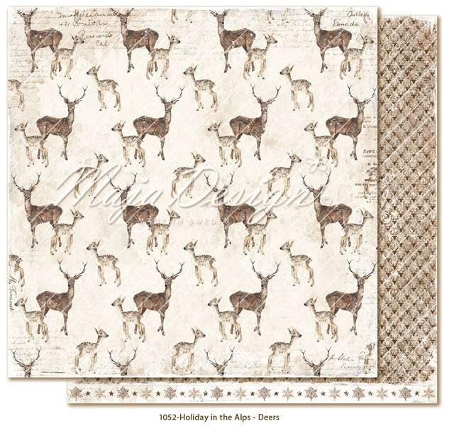 Maja Design - 1052 - Holiday in the Alps - Deers