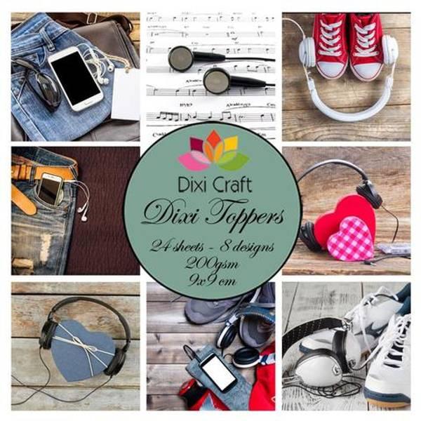 Dixi Craft - Dixi toppers - ET0344 - Music