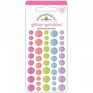 Bilde av Doodlebug - 5544 - Glitter Sprinkles - Fairy Tales Birthday Girl