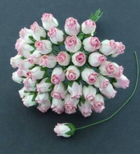 Bilde av Flowers - Hip Rosebuds - SAA-095 - 2-Tone Pink - 40stk