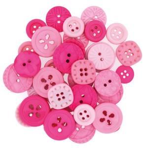 Bilde av Dress it up - Buttons - 7292 - Color me Hot Pink