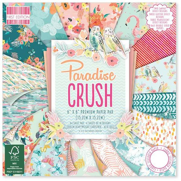 First Edition - 133 - 6x6 Paper Pad - Paradise Crush
