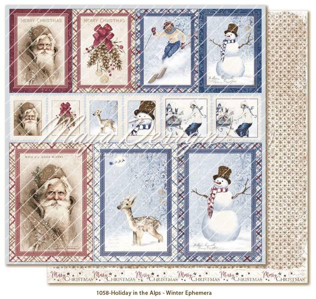 Maja Design - 1058 - Holiday in the Alps - Winter Ephemera