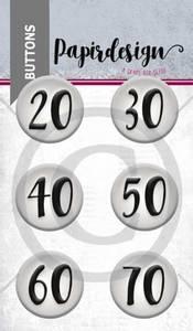 Bilde av Papirdesign - Buttons - 1900054 - Runddager