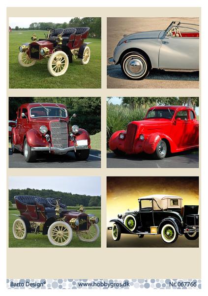 Barto Design - Klippeark A4 - 067766 - Classic Cars