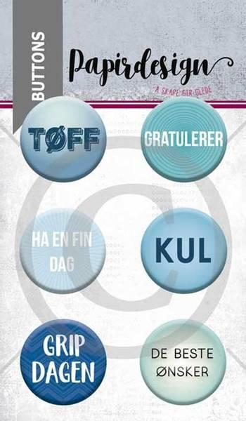 Papirdesign - Buttons - 1900056 - Grip dagen