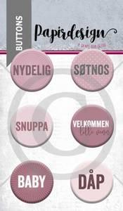 Bilde av Papirdesign - Buttons - 1900058 - Snuppa