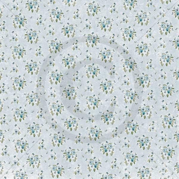 Papirdesign PD1900018 - Vårstemning - Stemorsblomst, blå