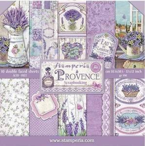 Bilde av Stamperia - 12x12 Paper Pack - 51 - Provence