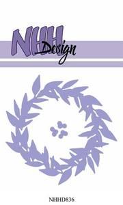 Bilde av NHH Design - NHHD836 - Dies - Misteltoe Wreath