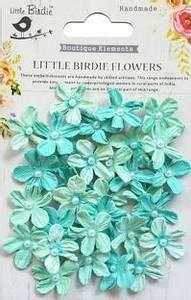 Bilde av Little Birdie - Paper Flowers - Pearl Petites - Arctic