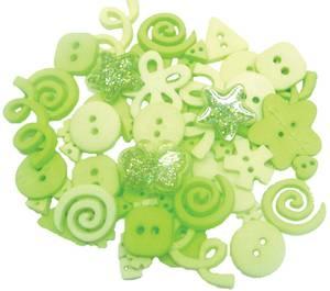 Bilde av Dress it up - Buttons - 2105 - Lime