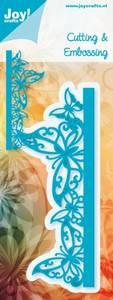 Bilde av Joy Crafts - 6002-0251 - NOOR DESIGN - BUTTERFLIES EDGE