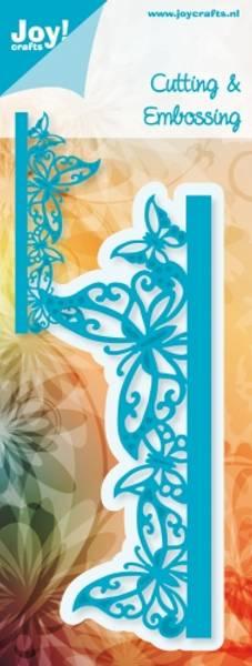 Joy Crafts - 6002-0251 - Die - Noor Design - Butterflies Edge
