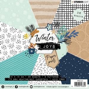 Bilde av Studiolight -  127 - PaperPad 15x15cm - PPWJ127 - Winter Joys