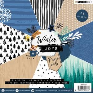 Bilde av Studiolight -  128 - PaperPad 15x15cm - PPWJ128 - Winter Joys