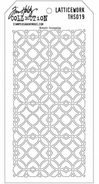 Tim Holtz - Layered Stencil - THS019 - Latticework