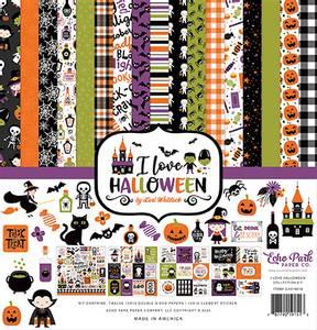 Bilde av Echo Park - I Love Halloween - 12x12 Collection Kit