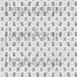 Bilde av Papirdesign PD2100573 - Vårtegn - Bamsekos, blå