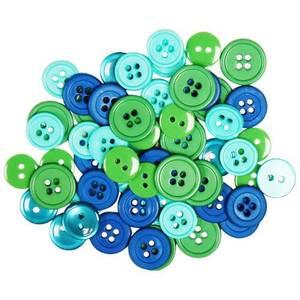 Bilde av Blumenthal - Favorite Findings Buttons - 434 - Ocean - 130 stk