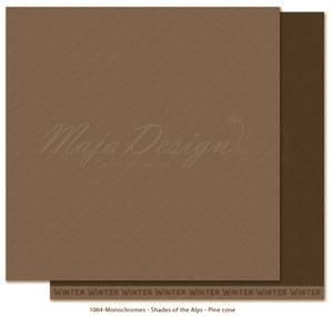 Bilde av Maja - 1064 - Monochromes - Shades of the Alps - Pine cone