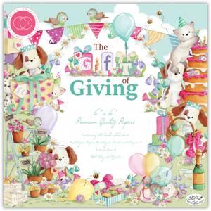 Bilde av Craft Consortium - The Gift of Giving - 6x6 Paper Pad