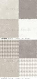 Bilde av Kort & Godt - Mønsterpapir 107450 - Symfoni beige - 0468