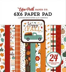 Bilde av Echo Park - Happy Fall - 6x6 Paper Pad