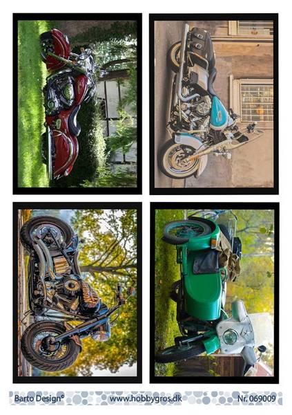 Barto Design - Klippeark A4 - 069009 - Motorcycles
