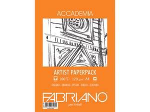 Bilde av Fabriano - Accademia Artist Paperpack - 120gr. A4 - 200 ark