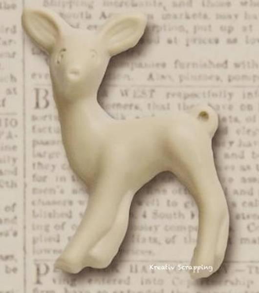 Deer Fawn - 20-1 - Cream - 3stk