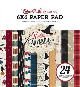 Bilde av Echo Park - Witches & Wizards - 6x6 Paper Pad