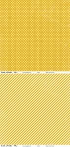 Bilde av Kort & Godt - Mønsterpapir 107441 - Retro gul - 0376