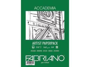 Bilde av Fabriano - Accademia Artist Paperpack - 160gr. A4 - 150 ark