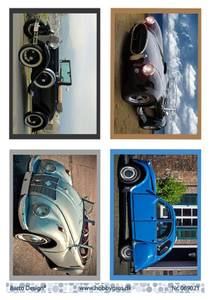 Bilde av Barto Design - Klippeark A4 - 069021 - Cars