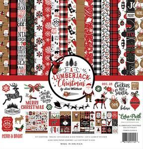 Bilde av Echo Park - A Lumberjack Christmas - 12x12 Collection Kit