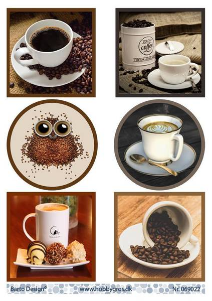 Barto Design - Klippeark A4 - 069022 - Coffee