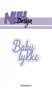 Bilde av NHH Design - NHHD910 - Dies - Baby lykke