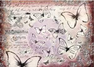 Bilde av Finnabair - 967185 - Decorative Tissue Paper - Flutter - 6 ark
