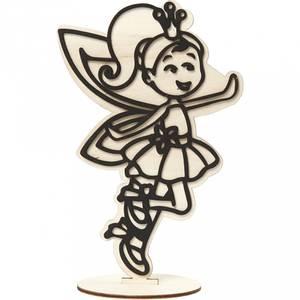 Bilde av Creotime - Dekorasjonsfigur - Fè - H: 21 cm