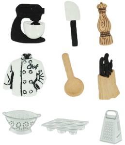 Bilde av Dress it up - Buttons - 6539 - The Master Chef