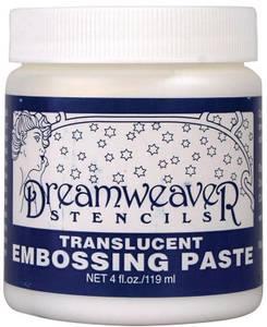 Bilde av Dreamweaver - Embossing Paste - 4oz - Transluscent