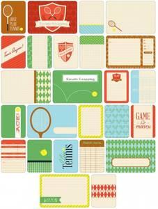 Bilde av Project Life - Themed Cards 40 - 380247 - TENNIS