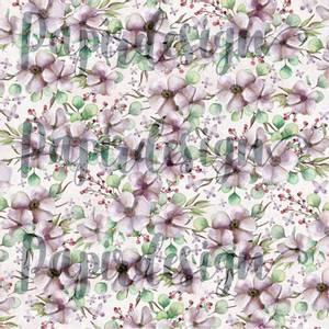 Bilde av Papirdesign PD2100587 - Vårtegn - Blomsterfryd, lilla