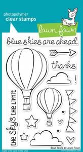 Bilde av Lawn Fawn - LF511 - Clear stamps - Blue Skies