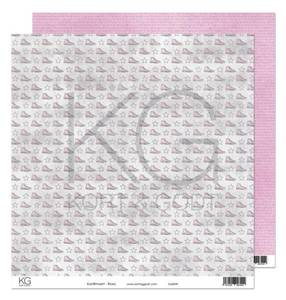 Bilde av Kort & Godt - Mønsterpapir 108138 - Konfirmant - Rosa - 7429