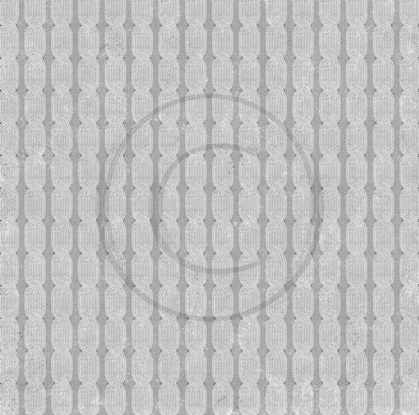 Papirdesign PD17343 - Strikkedilla - Flettestrikk
